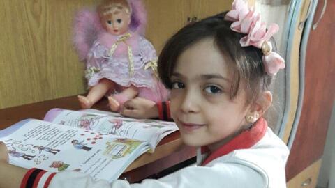 Bana Alabed, la niña de siete años que relató en Tw...