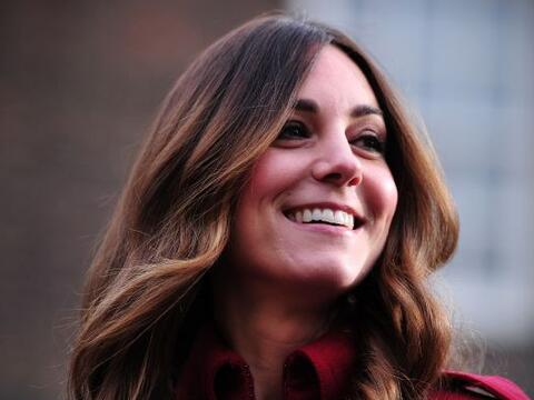 Kate Middleton, la duquesa de Cambridge, se prepara para reunirse con el...
