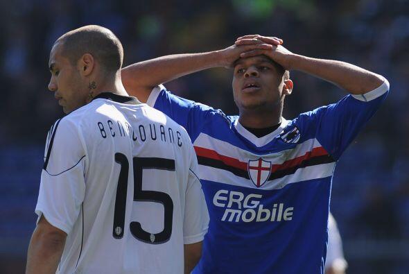 Con esto, Cesena venció como visitante por 3-2 a una Sampdoria qu...
