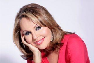 La presentadora de noticias de Univision, María Elena Salinas, es la per...