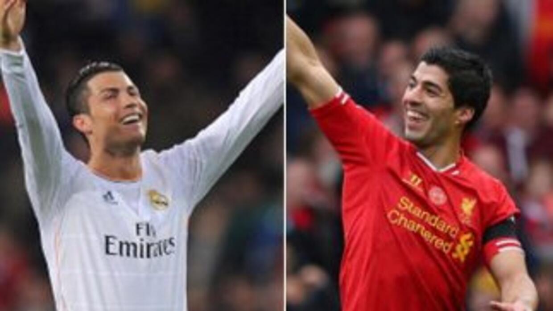 Cristiano Ronaldo y Luis Suárez terminaron la temporada con 31 goles cad...