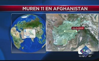 Choque aéreo en Afganistán