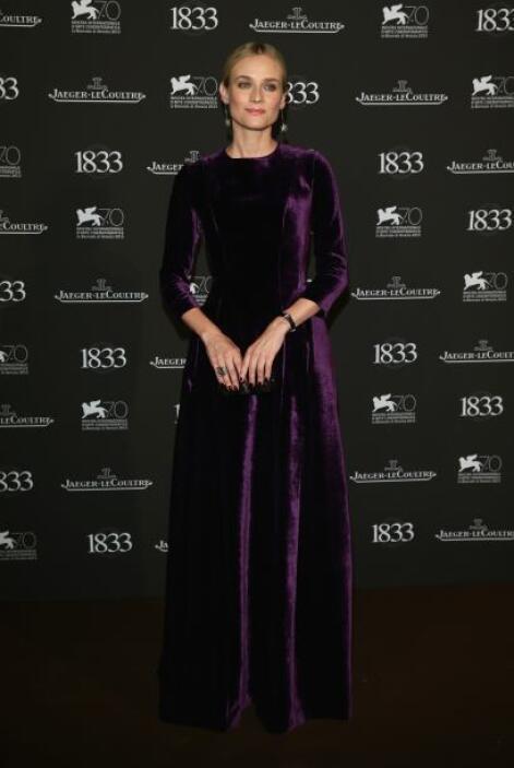 El buen gusto por vestir de Diane Kruger quedó de lado cuando se puso es...