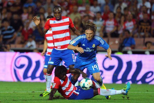 Granada apenas y reaccionaba con el objetivo de no ver caer su marco una...