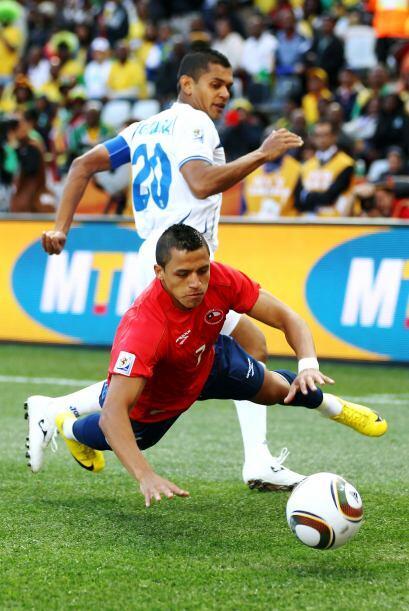 Chile le ganó a los catrachos en su primer encuentro de Sudáfrica lo que...