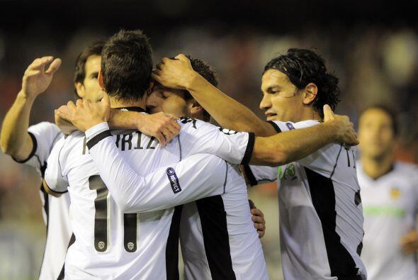 En el primer tiempo, los españoles ya ganaban por 4-0.
