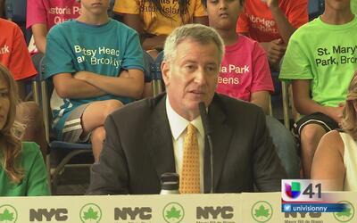 Alcalde de Nueva York anuncia la creación de un fondo para remodelar par...