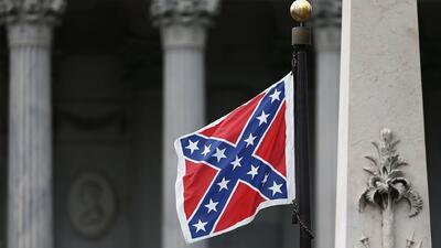 Debatirán el retiro de la bandera confederada