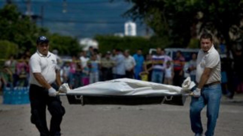 La ola de violencia causa a diario un promedio de 15 muertos en Honduras...
