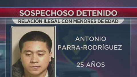 Tres arrestos relacionados con relación ilegal con menor de edad