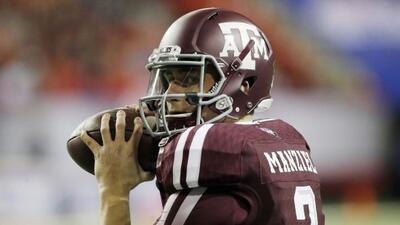 QB Johnny Manziel, Texas A&M (AP-NFL).
