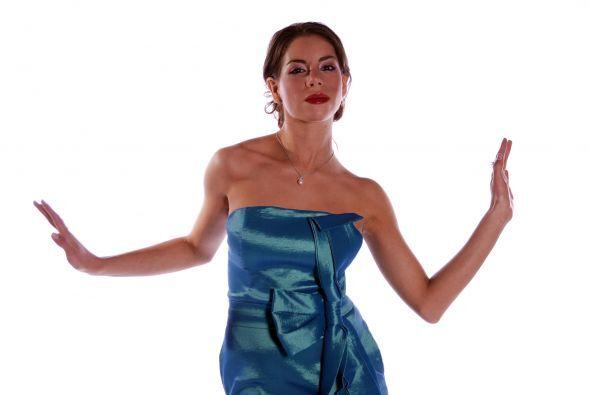 Es otra hispana que participó en las audiciones de Nuestra Belleza Latin...