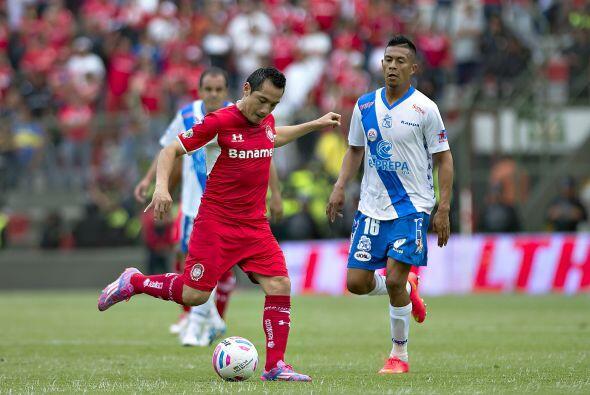 Antonio Ríos, el volante de Toluca ha sido uno de los jugadores m...