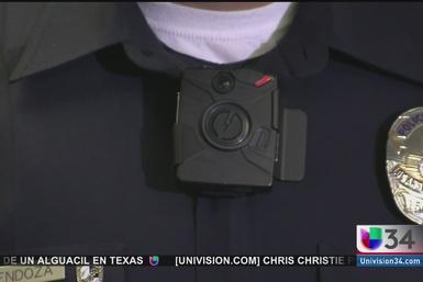 Entregarán cámaras a agentes del LAPD