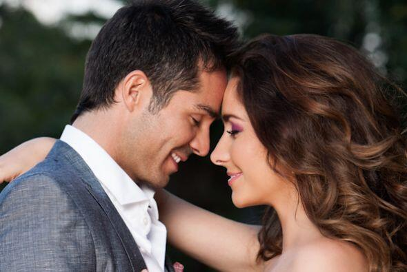 Ariadne Díaz y José Ron también comenzaron una apasionada relación desde...