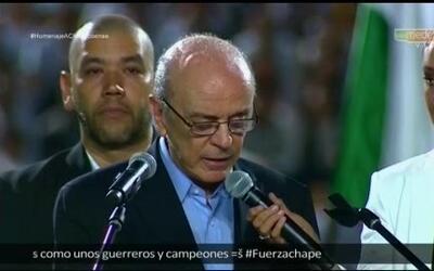 El Ministro de Exteriores de Brasil no pudo contener el llanto al agrade...
