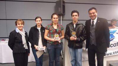 Univision 41 realizó otro concurso del Spelling Bee de San Antonio.