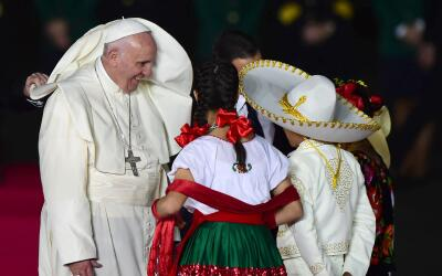 Primera visita del Papa a México
