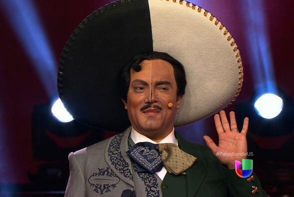 Jorge Negrete y Pedro Infante reencarnaron en un solo concursante para l...