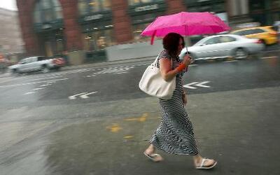 Calor, granizo y lluvias en el reporte del tiempo