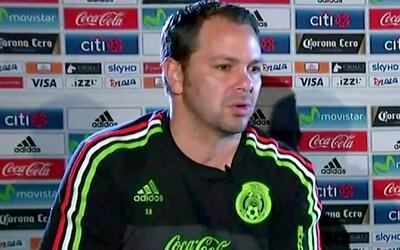 """Baños y el partido ante Costa Rica: """"Queremos que el Azteca se haga pesa..."""