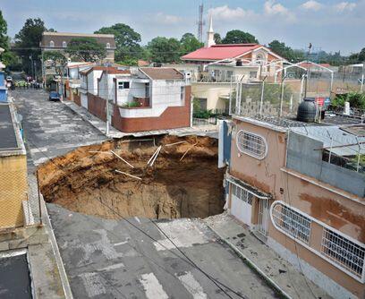 Tierra frágil. La corteza terrestre sobre la que se construyó la Ciudad...