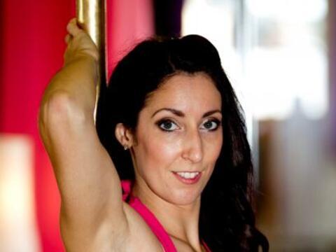 Amy Cowles es una mujer que se acercó a esta actividad fís...