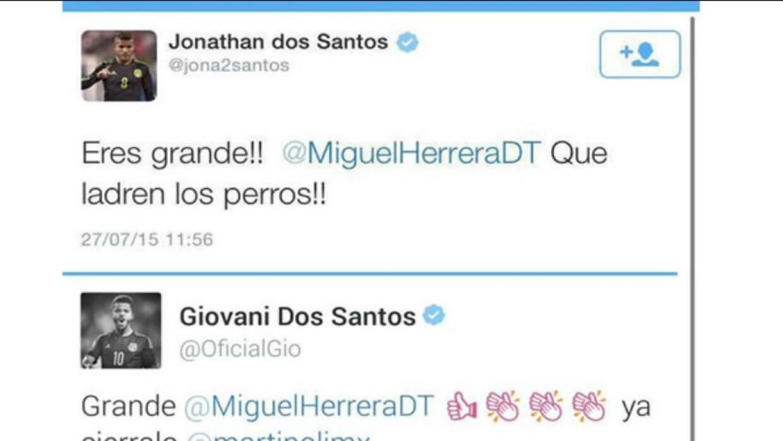 Twitters hermanos Dos Santos