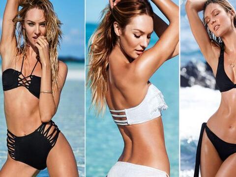 La modelo de Victoria's Secret quiere cerrar bien el año, encendiendo el...