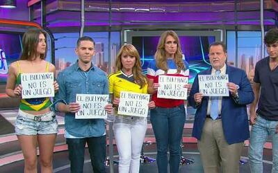 El talento del Gordo y La Flaca se una a la campaña 'el bullying no es u...