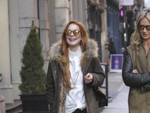 Las nubes negras se alejan de la vida de Lindsay Lohan.Mira aquí...