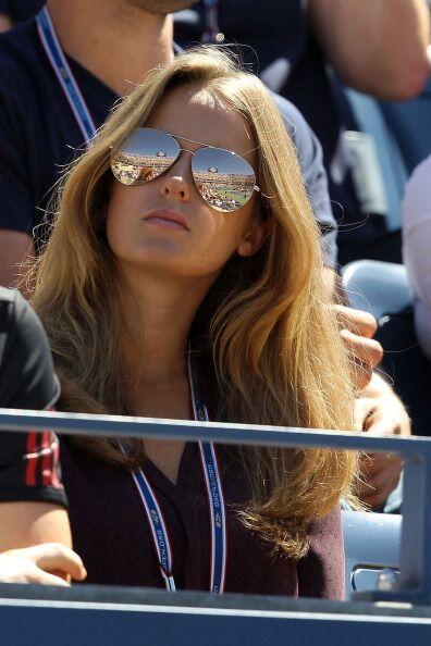 La inglesa Kim Sears es novia de Andy Murray, quien es uno de los mejore...