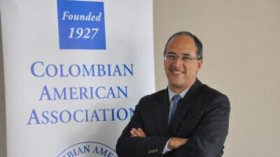 El Minsitro de Finanzas de Colombia, Juan Carlos Echeverry, habló con Un...