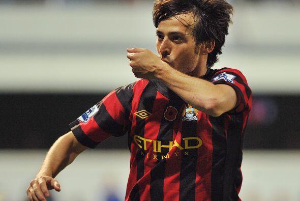 El City jugaba mejor y se puso arriba con un tanto del español Da...