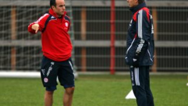 Klinsmann y Donovan.