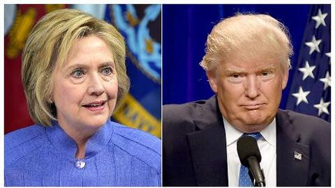 Hillary Clinton y Donald Trump se enfilan a la etapa más dura de la camp...
