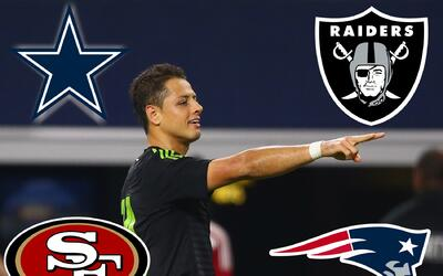 Chicharito NFL Teams