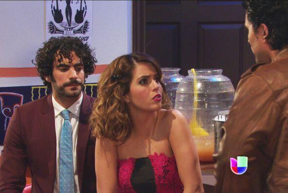 Ya veremos si Armando permite que le roben al amor de su vida.