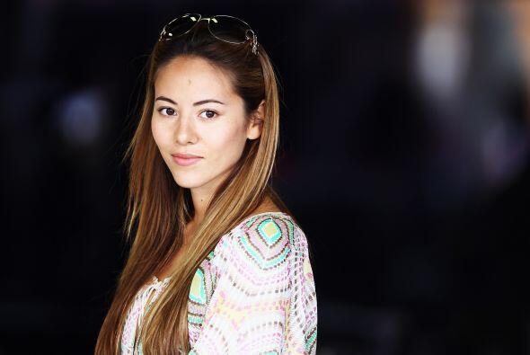 La japonesa Jessica Michibata es modelo de lencería y es la guapa novia...
