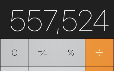 El truco permite borrar una cifra de la calculadora cuando te equivocas...