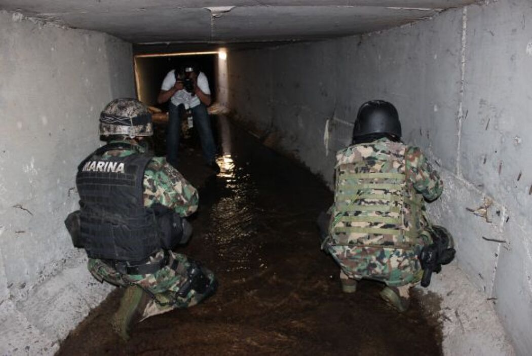 Para entrar al túnel uno tiene que ir agachado, pero cuando se unía al s...