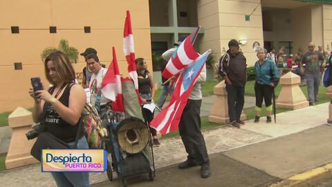 Cientos de personas en Río Piedra se preparan para formar parte del paro...