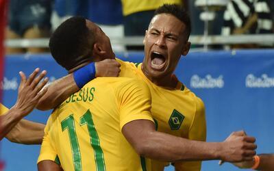 Los brasileños le pegaron 4-0 a los daneses