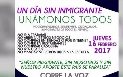 'Houston en un Minuto': Crece la iniciativa 'un día sin inmigrantes'