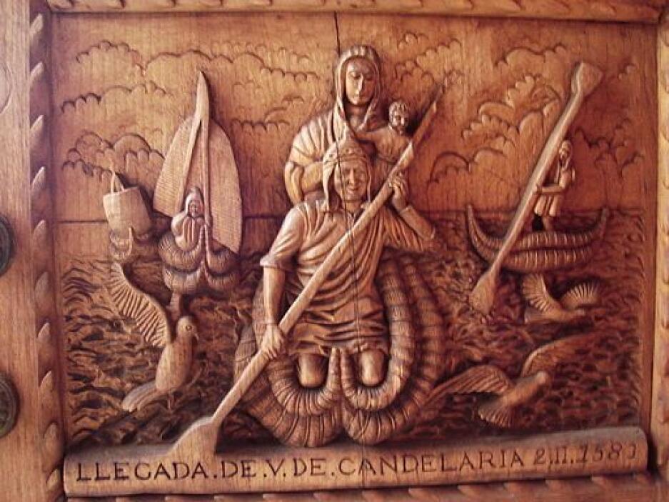 La Virgen de la Candelaria de Copacabana es  de las más antiguas. Es ven...