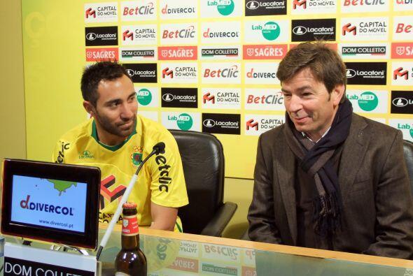 Desde su llegada a Portugal, Arturo Alvarez ha sido bien recibido (Corte...