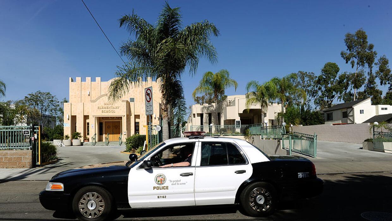 Policía de Los Ángeles (foto de archivo).