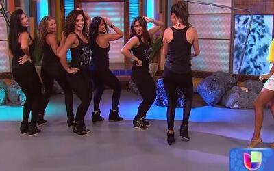 Las Chicas 'Terremoto' movieron la cola y bailaron el #Colalicious