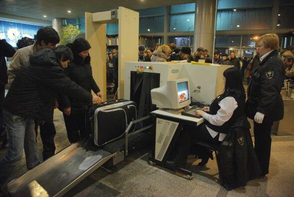 A pesar de que el aeropuerto Domodedovo es considerado el más moderno de...