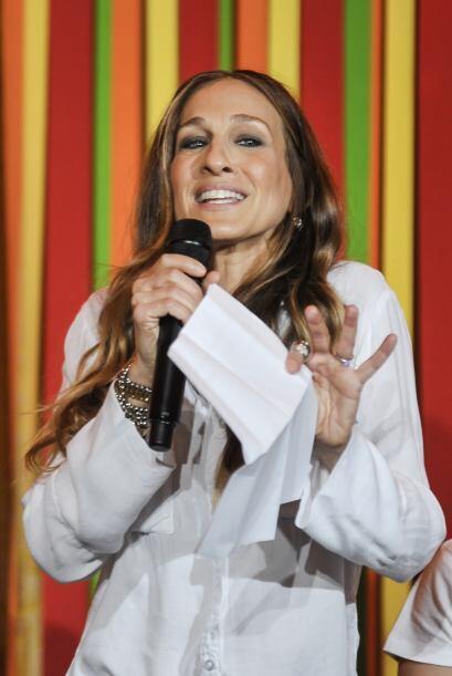 En un acto que contó con estrellas como la actriz Sarah Jessica P...